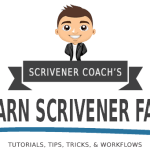 Learn Scrivener Fast - Tutorials Tips Tricks Workflows