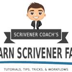 Learn Scrivener Fast - Tutorials Tips Tricks Workflows
