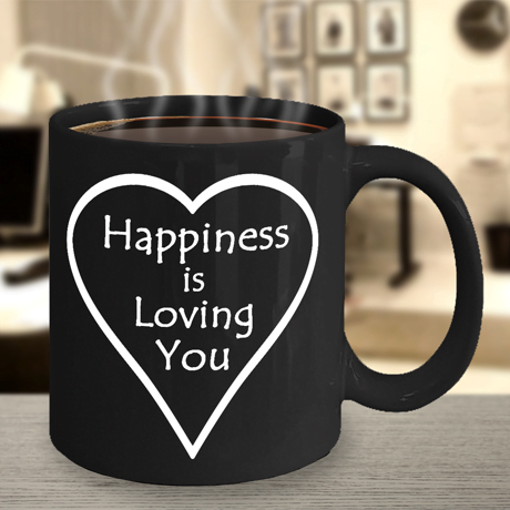 Happiness is Loving You Mug
