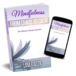 Mindfulness From Chaos to Calm book paperback and on cell